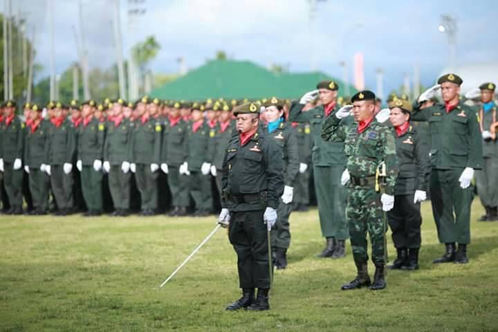 พิธีกระทำสัตย์ปฏิญาณและสวนสนาม นักศึกษาวิชาทหาร ปี 2561